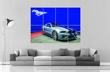 FORD MUSTANG SHELBY HERO NEED FOR SPEED 02 Poster Grand format A0 Large Print