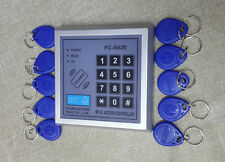 125KHz ID Card Key Tag Reader RFID Proximity Door Access system with Keypad EM