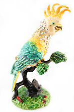 Parrot Bird Jewelry Trinket Box Decoration Animal Cute Present Fly Gift 02075