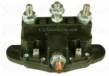 Solenoid, Relay for Reversible Motors, Camper slideout, Winch,  Silver  SRY88017