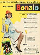 Publicité  //   Bonalo  peinture à l'eau
