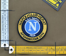 "Ricamata / Embroidered Patch ITA SF ""Napoli Club Herat"" with VELCRO® brand hook"
