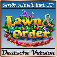 Lawn and Order - Die Gartenprofis Deluxe - PC-Spiel - Deutsche Version &