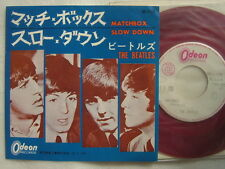TEST PRESS RED VINYL / THE BEATLES MATCHBOX / 7INCH