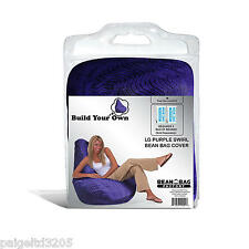 Bean Bag Factory Large Purple Swirl  Bean Bag Chair Cover ONLY~ New~