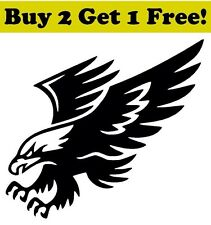 Bald Eagle Vinyl Decal Sticker Bumper Window Wall America USA Patriot Pride