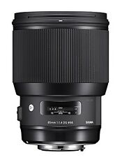 Sigma 85mm F1.4 DG HSM Art Nikon Mount Lens - Black