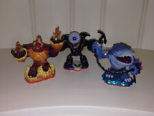 Skylanders Hothead, Eye-brawl, and Thumpback