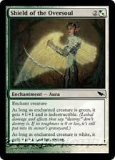 SHIELD OF THE OVERSOUL Shadowmoor MTG White/Green Enchantment — Aura Com