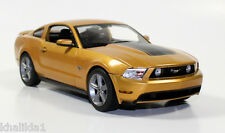 Greenlight 2010 Ford Mustang GT Sunset Gold Metal Diecast Model Car 1:18 12870B