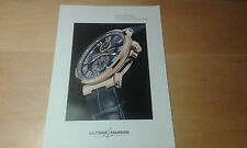 Usado - ULYSSE NARDIN - MAXI MARINE CHRONOMETER - Ficha técnica - For Collectors