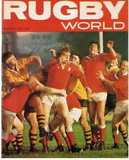 RUGBY WORLD MAGAZINE FEBRUARY 1976 - PERFECT GIFT FOR A FAN BORN IN THIS MONTH