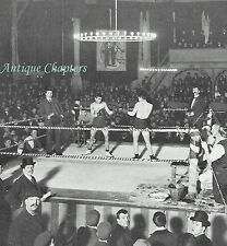 Boxing Match The Wonderland Theatre Whitechapel 1904 Photo Article A832