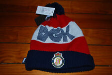 "NEW Dirty Ghetto Kids DGK ""Primier League"" Striped Skull Beanie Hat"