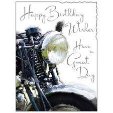 Birthday Card Male ~ Motorbike ~ Luxury Card ~ Top Quality ~ Nicest Design