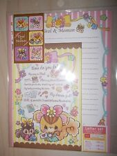 Cute Kawaii Letter Set - Cute Squirrel Tirol & Momon