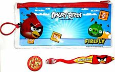 Kids ANGRY BIRDS Travel Kit- Toothbrush- Firefly Dental- RED BIRD + Cap