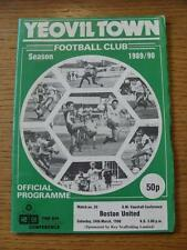 24/03/1990 Yeovil Town v Boston United  (No apparent faults).