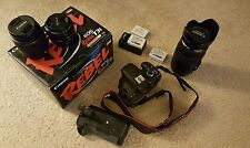 Canon EOS Rebel T3i (600D) 18.0 MP Digital SLR Camera with lens and accessories