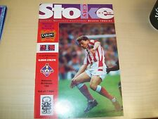 RARE STOKE CITY V OLDHAM ATHLETIC . F.A. CUP 4TH ROUND REPLAY 1994  MINT .