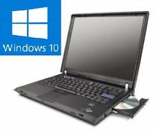 Lenovo win10 IBM ThinkPad t60 PORTATILE NOTEBOOK WINDOWS 10 Professional