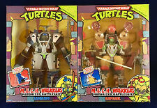 Teenage Mutant Ninja Turtles Classic Collection Mech Wrekkers Leonardo & Raphael