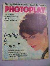 PHOTOPLAY MAGAZINE FEBRUARY 1964 DADDY IS GONE DEBBIE PRAYED BILLY GRAHAM