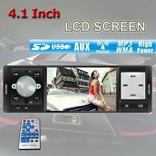 4.1''LCD Car Stereo Radio MP3 MP5 Player In Dash Fm Receiver USB SD AUX NO CD