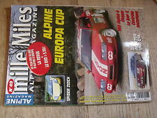 $$ Revue mille Miles Alpine Magazine N°49 Alpine Europa Cup  Spider 255ch  GTA