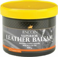 Lincoln superior leather balsam cleaner + sponge 400g