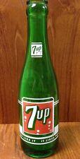 Vintage 7UP 7oz bottle green seven up ORLANDO FL Duraglas