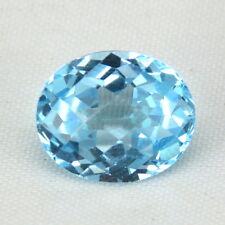 TOP TOPAZ  : 6,45 Ct Natürlicher Blau Topas aus Brasilien