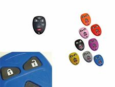 GMC Chevy 6 button Key Fob Cover Jacket Silicon Black Pink Red Purple Blue Red