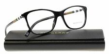 100% Authentic BURBERRY BE2141 3001 Black Full Rim 53/16/140 Women's Eyeglasses