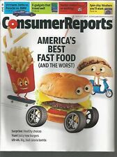 Consumer Reports August 2014 - America's Best Fast Food/E gadgets/Heart Surgery