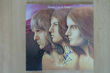 "Emerson Lake & Palmer Autogramme signed LP-Cover ""Trilogy"" Vinyl"