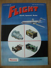 FLIGHT AIRCRAFT SPACECRAFT MISSILES MAGAZINE NOVEMBER 25th 1960 PLESSEY SYSTEMS
