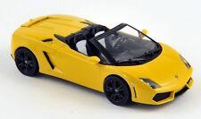 Lamborghini Gallardo LP560-4 spyder jaune 2003 (760026) 1/43 Norev