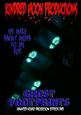 Ghost Footprints Projection Effects DVD Haunted Mansion House Halloween  prop