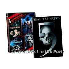 Final Destination Complete Series Movies 1 2 3 4 5 Boxed / DVD Set(s) NEW!
