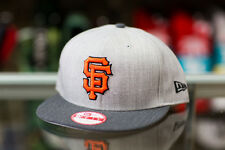 New Era San Francisco Giants Heather Accent Snapback Hat