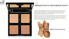 e.l.f. BRONZER PALETTE QUAD #83319 BRONZE BEAUTY NEW