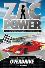 Overdrive (Zac Power)-ExLibrary