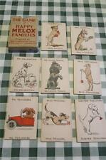 "RARE Melox advertising "" HAPPY DOGS ""  Happy Families Playing Cards - Boxed VGC"