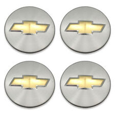 Set of 4 OEM 05-10 Chevy Impala HHR Cobalt Monte Carlo Wheel Center Caps Hubcaps