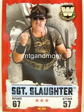 Slam Attax Takeover - #265 Sgt. Slaughter
