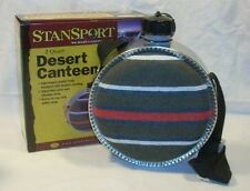 Stansport 2 Qt Desert Canteen w/Blanket Covering Camping Hiking Fishing Hunting