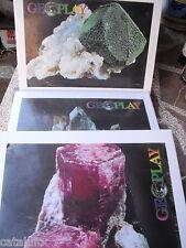 Coleccion completa de 144 minerales en 3 cajas Nueva a estrenar Precintadas