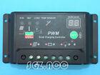 10A solar panel charge controller / regulator 12/24V for camper / caravan / boat