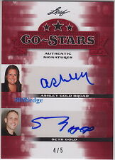 "2013 POP CENTURY CO-STARS AUTO: SETH/ASHLEY GOLD #4/5 AUTOGRAPH ""HARDCORE PAWN"""